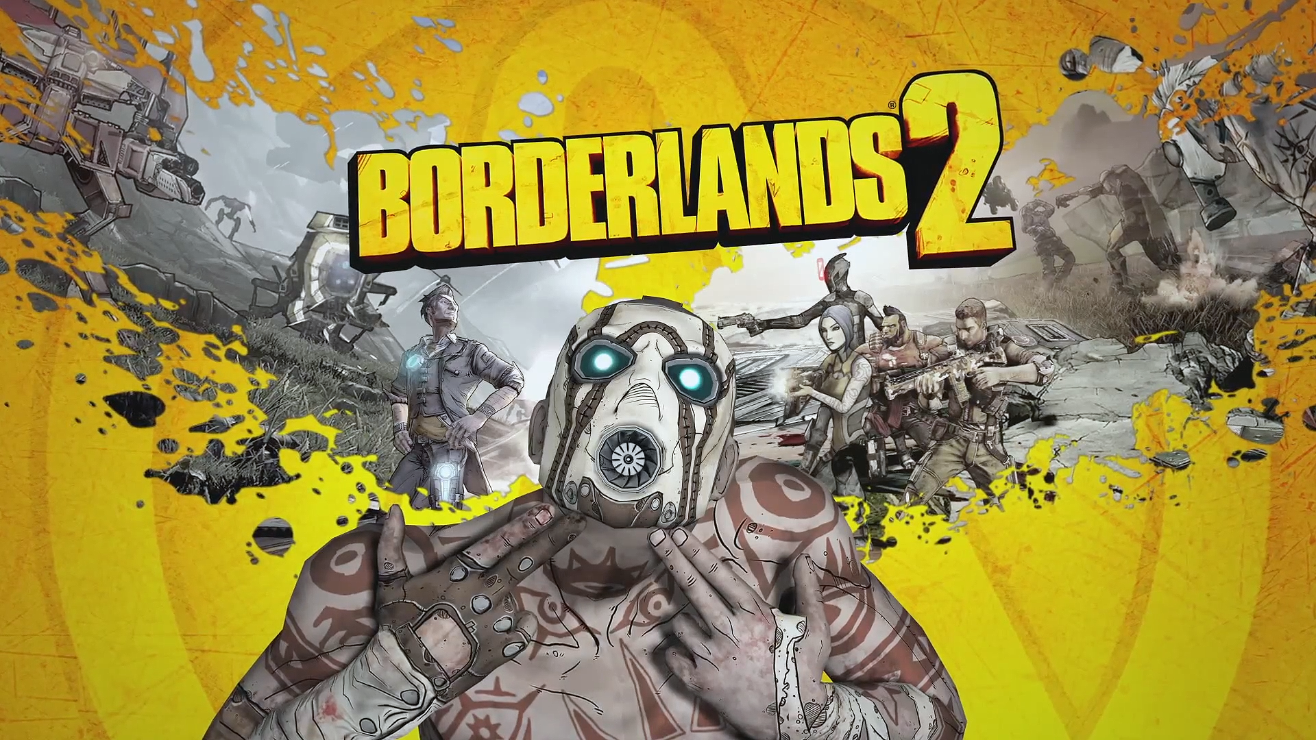 borderlands 2 wallpaper yuiphone borderlands 2 logo
