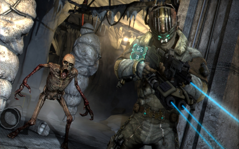 Dead Space 3 gameplay