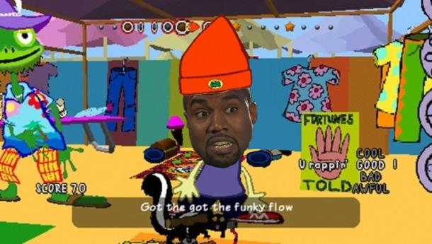 Kanye The Rapper